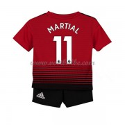 Goedkope Voetbalshirts Manchester United Tenue Kind 2018-19 Anthony Martial 11 Thuisshirt..