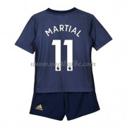 Goedkope Voetbalshirts Manchester United Tenue Kind 2018-19 Anthony Martial 11 Third Shirt..