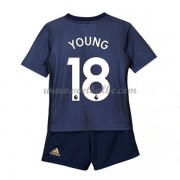 Goedkope Voetbalshirts Manchester United Tenue Kind 2018-19 Ashley Young 18 Third Shirt..