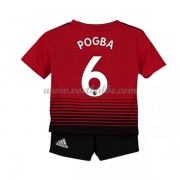 Goedkope Voetbalshirts Manchester United Tenue Kind 2018-19 Paul Pogba 6 Thuisshirt..