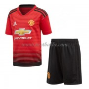 Goedkope Voetbalshirts Manchester United Tenue Kind 2018-19 Thuisshirt