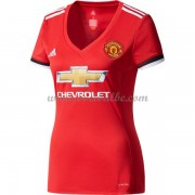 Goedkope Voetbaltenue Manchester United Dames 2017-18 thuisshirt..
