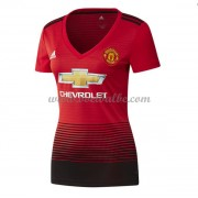 Goedkope Voetbalshirts Manchester United Tenue Dames 2018-19 Thuisshirt..