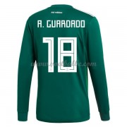Voetbalshirt Mexico 2017 Andres Guardado 18 thuis tenue lange mouw..