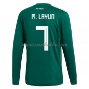 Voetbalshirt Mexico 2017 Miguel Layun 7 thuis tenue lange mouw..