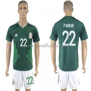 Voetbalshirt Mexico 2017 Paul Aguilar 22 thuis tenue..
