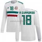 Voetbalshirt Mexico 2018 Andres Guardado 18 uit tenue lange mouw..