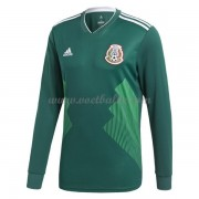 Voetbaltenue Mexico WK 2018 thuisshirt lange mouw..