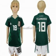 Voetbalshirts kids Mexico 2018 Andres Guardado 18 thuis tenue ..