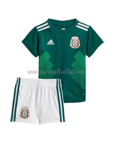 Voetbalshirts kids Mexico 2018 thuis tenue
