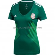 Goedkope Voetbaltenue Mexico Dames 2018 thuisshirt..