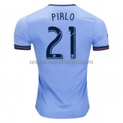 Voetbaltenue New York City Andrea Pirlo 21 thuisshirt 2017-18..