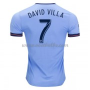 Voetbaltenue New York City David Villa 7 thuisshirt 2017-18..