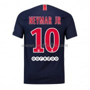 Goedkoop Voetbaltenue Paris Saint Germain PSG 2018-19 Neymar Jr 10 Thuisshirt