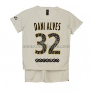 Goedkope Voetbalshirts Paris Saint Germain PSG Tenue Kind 2018-19 Dani Alves 13 Uitshirt..
