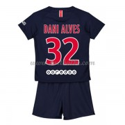 Goedkope Voetbalshirts Paris Saint Germain PSG Tenue Kind 2018-19 Dani Alves 13 Thuisshirt..