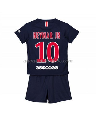 Goedkope Voetbalshirts Paris Saint Germain PSG Tenue Kind 2018-19 Neymar Jr 10 Thuisshirt