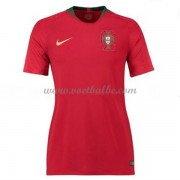 Goedkope Voetbaltenue Portugal Dames 2018 thuisshirt..
