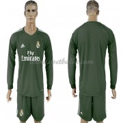 Voetbaltenue Real Madrid keeper thuisshirt lange mouw 2017-18..