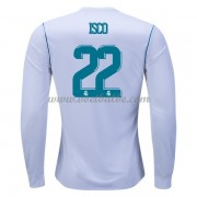 Voetbaltenue Real Madrid Isco 22 thuisshirt lange mouw 2017-18..