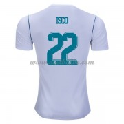 Voetbaltenue Real Madrid Isco 22 thuisshirt 2017-18..