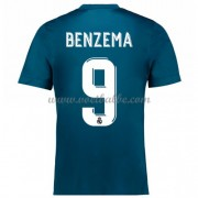 Voetbaltenue Real Madrid Karim Benzema 9 third shirt 2017-18..