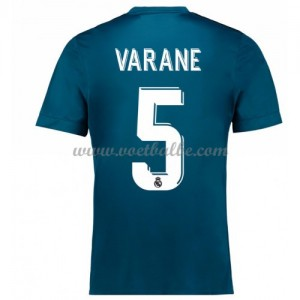 Voetbaltenue Real Madrid Varane 5 third shirt 2017-18