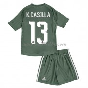 Voetbalshirts kids Real Madrid Casillas 1 keeper thuis tenue 2017-18..