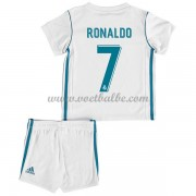 Voetbalshirts kids Real Madrid Cristiano Ronaldo 7 thuis tenue 2017-18