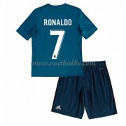 Voetbalshirts kids Real Madrid Cristiano Ronaldo 7 third tenue 2017-18..