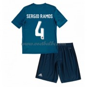 Voetbalshirts kids Real Madrid Sergio Ramos 4 third tenue 2017-18..