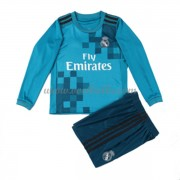 Voetbalshirts kids Real Madrid third tenue lange mouw 2017-18..