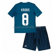 Voetbalshirts kids Real Madrid Toni Kroos 8 third tenue 2017-18..