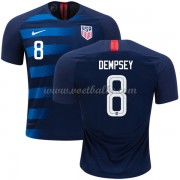 Voetbalshirt USA 2018 Clint Dempsey 8 uit tenue ..
