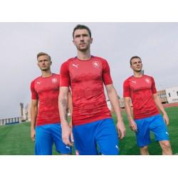 Tsjechische 2018 nationale team thuis voetbalshirts