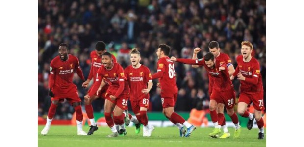 Liverpool's stopzetting 5-5 penalty en 5-4 eliminatie Arsenal