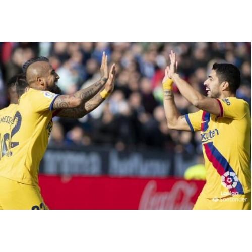 La Liga-Messi helpt Su Shen, die Barcelona zal helpen de leiding om te keren
