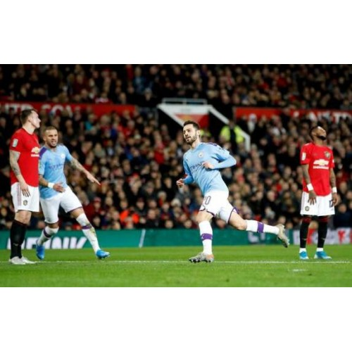 League Cup-Rashford scoort Bernardo kruist 1-3 Manchester City