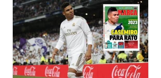 Real Madrid vernieuwde middenvelder tot 2023