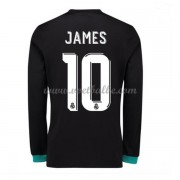 Voetbaltenue Real Madrid James Rodriguez 10 uitshirt lange mouw 2017-18