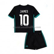 Voetbalshirts kids Real Madrid James Rodriguez 10 uit tenue 2017-18