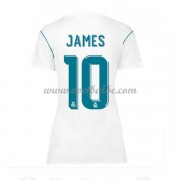 Goedkope Voetbaltenue Real Madrid Dames 2017-18 James Rodriguez 10 thuisshirt