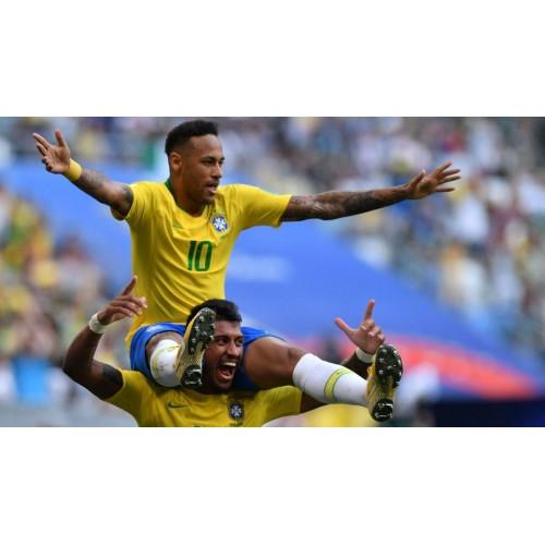 Brazilië Shirt Kind WK 2018, Goedkope Voetbalshirts Kind Brazilië