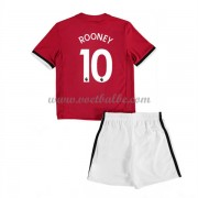 Voetbalshirts kids Manchester United Wayne Rooney 10 thuis tenue 2017-18..